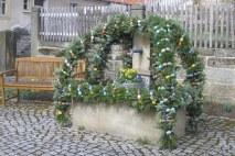 Osterbrunnen in Franken (c) mw