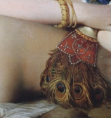 """Ingres """"Die große Odaliske"""" (Detail)"""