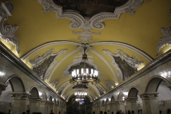 Metrostation in Moskau