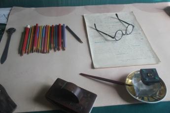Gorkis Schreibtisch