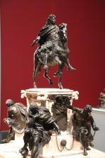 Modell Reiterstatue