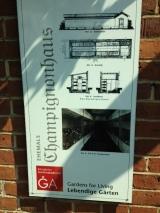 Gartenakademie Champignonhaus