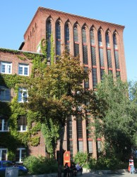 ehem.Umspannwerk Christiania in der Osloer Straße