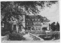 Haus Waltrud , Kupferdruck O.Felsing
