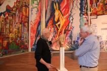 Peter Birkholz (links) mit Lear