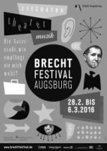 Plakat_Brechtfestival 2016 augsburg