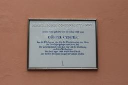 Berliner Gedenktafel am Haus Potsdamer Chaussee 87