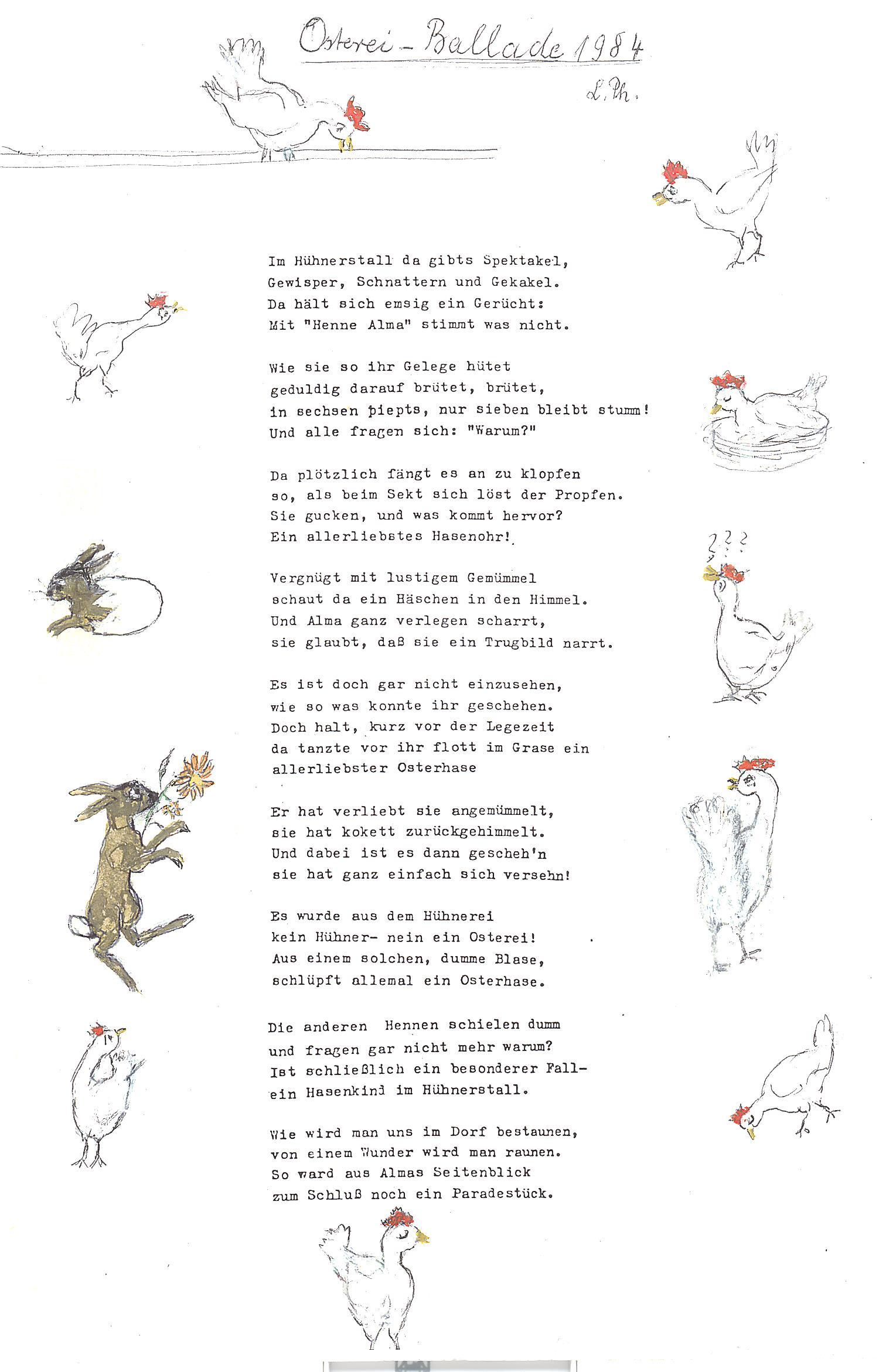 Gedicht Ostern