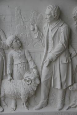 Detail Thaers Denkmal